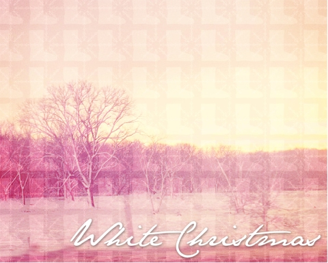 12 Days of Christmas Posters- Day 11, White Christmas